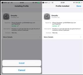 Install Emus4u App