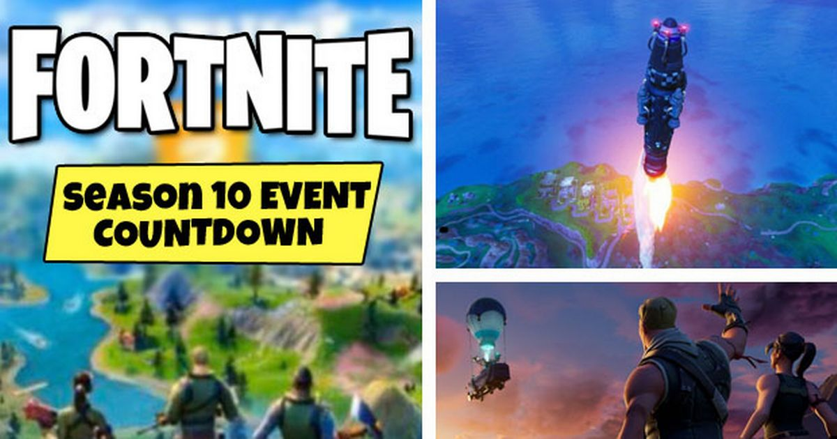Fortnite Event Time Season 10 Live Event Season 11 Countdown Map Leaks More While the fortnite live event is taking place on june 13, the start of season 3 won't start until leaks have suggested season 2 chapter 3 will bring about a map change in fortnite, leading to everything. event season 11 countdown map leaks