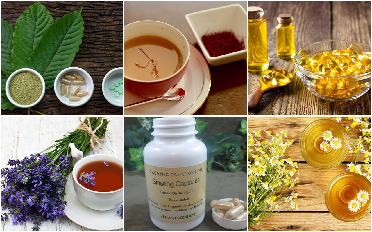 Natural herbs to fight depression